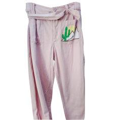 Tapered Pants ANTIK BATIK Pink, fuchsia, light pink
