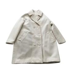 Manteau SESSUN Blanc, blanc cassé, écru