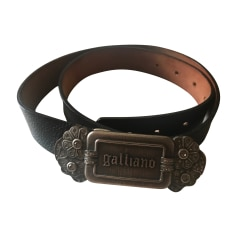 Skinny Belt JOHN GALLIANO Black
