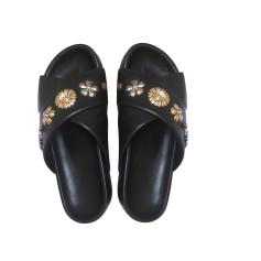 Sandales plates  CLAUDIE PIERLOT Noir