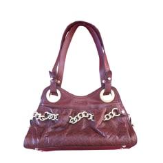 Leather Shoulder Bag LANCEL Brown