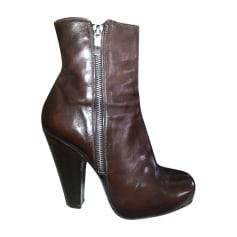 Bottines & low boots à talons BARBARA BUI Marron