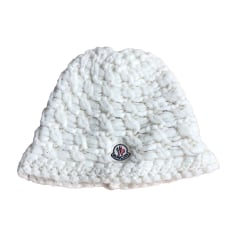 bonnet moncler blanc