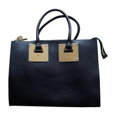 Leather Handbag SOPHIE HULME Black