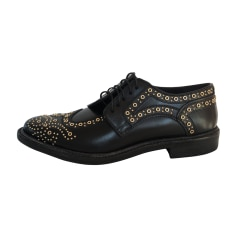 Lace Up Shoes BURBERRY Black