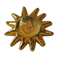 Spilletta CHRISTIAN LACROIX Dorato, bronzo, rame