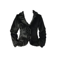 Fur Jackets KRISTINA POPOVITCH Black