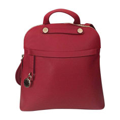Backpack FURLA Red, burgundy