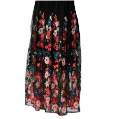 Maxi Skirt MAJE Black