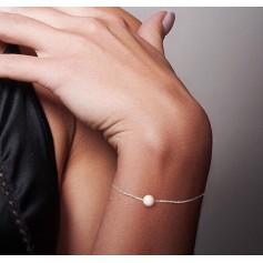 Bracelet ATELIERS SAINT GERMAIN Argenté, acier