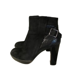 Bottines & low boots à talons HOGAN Noir