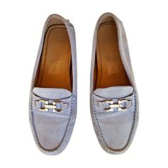 Loafers SALVATORE FERRAGAMO Blue, navy, turquoise