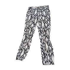 Skinny Pants, Cigarette Pants DIANE VON FURSTENBERG White, off-white, ecru