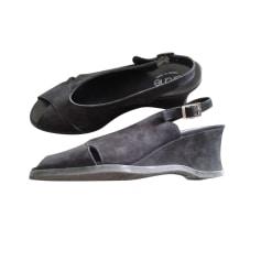 Sandales compensées ARCHE Noir