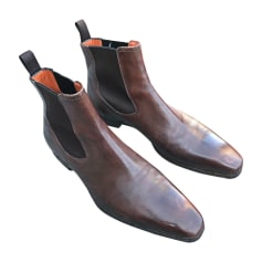 Ankle Boots SANTONI Brown