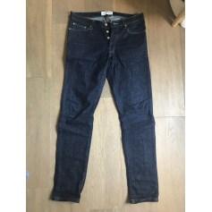Jeans slim BILLTORNADE Bleu, bleu marine, bleu turquoise