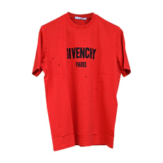 T-shirt GIVENCHY Red, burgundy