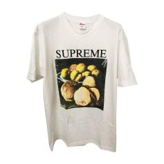 Tee-shirt SUPREME Blanc, blanc cassé, écru