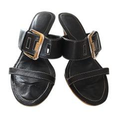 Sandales à talons TOD'S Noir