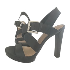 Sandali con tacchi MICHAEL KORS Nero