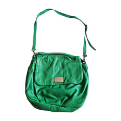 Borsa a tracolla in pelle MARC JACOBS Verde