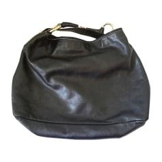 Leather Shoulder Bag GUCCI Hobo Black
