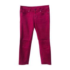 Jeans slim VANESSA BRUNO Rosa, fucsia, rosa antico