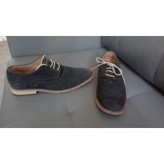 Lace Up Shoes ZARA Blue, navy, turquoise
