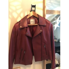 Zipped Jacket EDC BY ESPRIT Red, burgundy