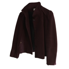 Manteau BA&SH Rouge, bordeaux