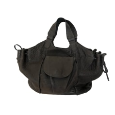 Leather Handbag GERARD DAREL Blue, navy, turquoise