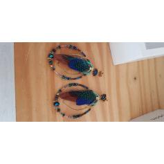 Orecchini GAS BIJOUX Blu, blu navy, turchese