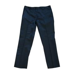 Pantalon droit MIU MIU Noir