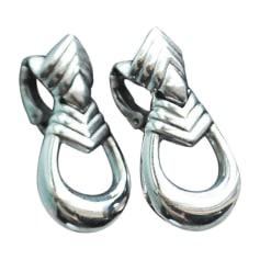 Orecchini GIVENCHY Argentato, acciaio