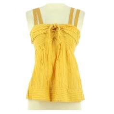 Top, T-shirt Yellow