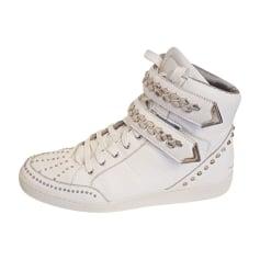 Chaussures de sport JUST CAVALLI Blanc, blanc cassé, écru