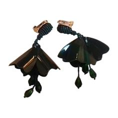 Earrings OSCAR DE LA RENTA Green