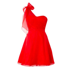 Robe mi-longue COAST Rouge, bordeaux