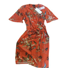 Robe courte IKKS Orange