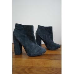 Bottines & low boots à talons TOPSHOP Bleu, bleu marine, bleu turquoise