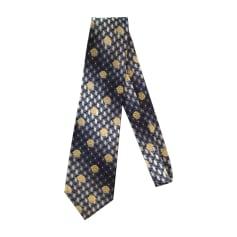 Cravatta VERSACE Blu, blu navy, turchese