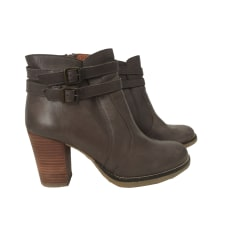 Bottines & low boots à talons SESSUN Gris, anthracite