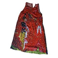 Robe mi-longue AVENTURES DES TOILES Rouge, bordeaux