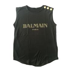 Top, tee-shirt BALMAIN Noir