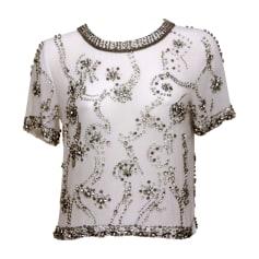 Top, tee-shirt ISABEL MARANT Blanc, blanc cassé, écru