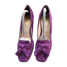 Escarpins TOD'S Violet, mauve, lavande