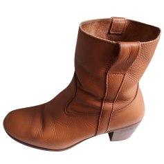 Bottines & low boots à talons LA BOTTE GARDIANE Beige, camel