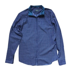 Chemise GIORGIO ARMANI Bleu, bleu marine, bleu turquoise