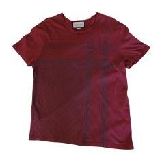 Tee-shirt GUCCI Rouge, bordeaux