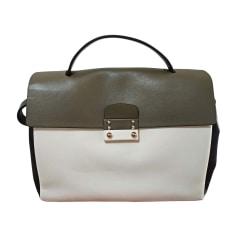 Lederhandtasche VALENTINO Weiß, elfenbeinfarben